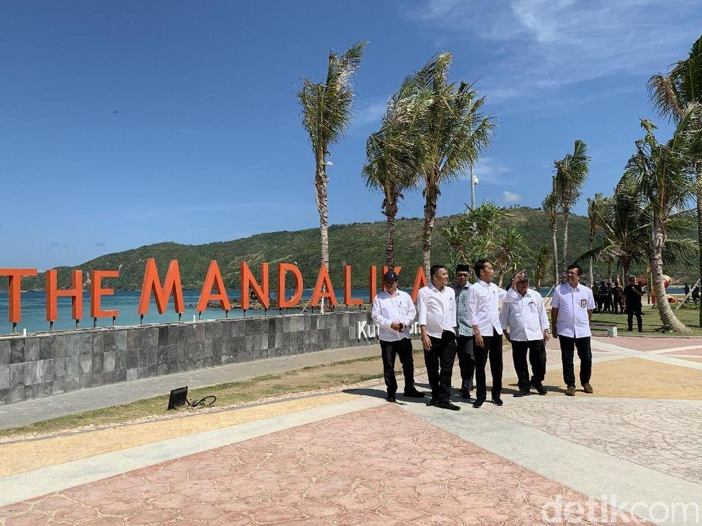 Jokowi Ajak Bos Djarum hingga Hary Tanoe Garap Mandalika