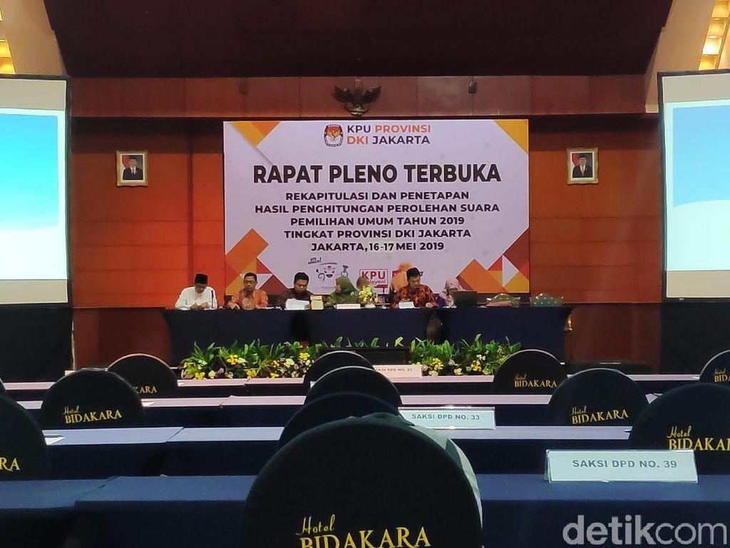 Rekapitulasi KPU DKI untuk DPD: Jimly hingga Sylviana Murni Unggul