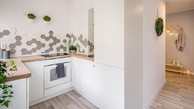 ilustrasi dapur kecil