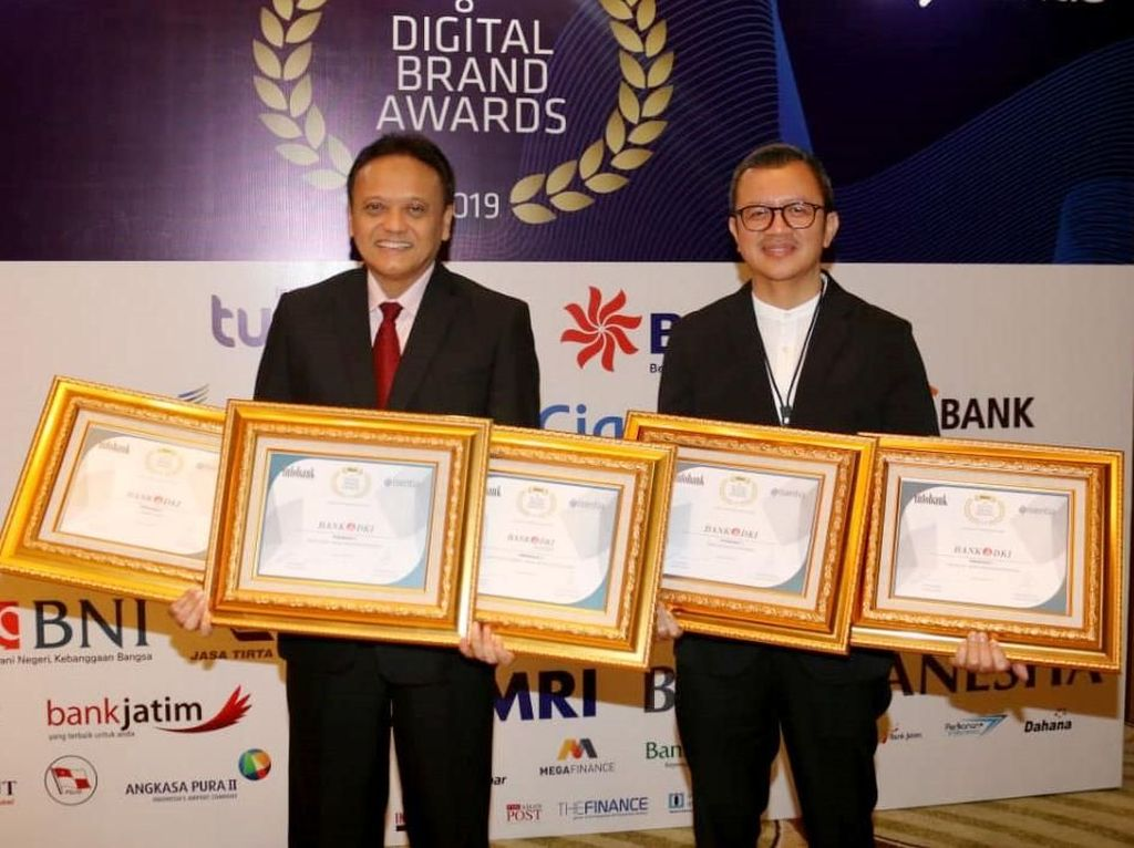 Bank DKI Borong Digital Brand Award 2019
