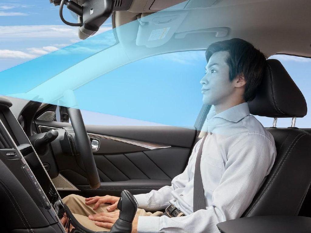 Nissan Skyline Bisa Melaju Otomatis