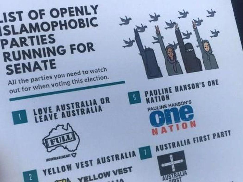 Bagaimana Muslim di Australia Memilih Saat Makin Banyak Partai Islamofobia?