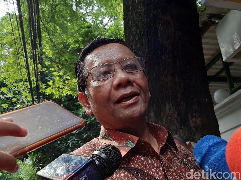 Bahas Rekonsiliasi, Mahfud MD dan GSK Temui Megawati