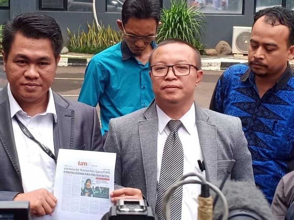 Pengacara Kaji Laporkan Tamshnews.com yang Bikin Ani Hasibuan Tersudut