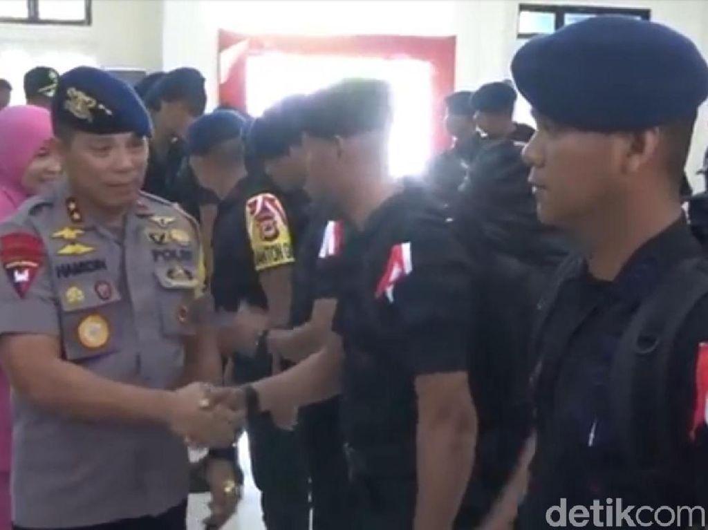 Polda Sulsel Kirim 100 Personel Brimob ke Jakarta Jelang 22 Mei
