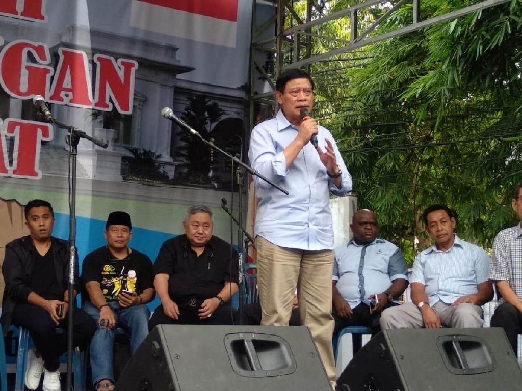 Eks Menko Polhukam Tedjo Edhy: Gerakan Rakyat Bukan Makar