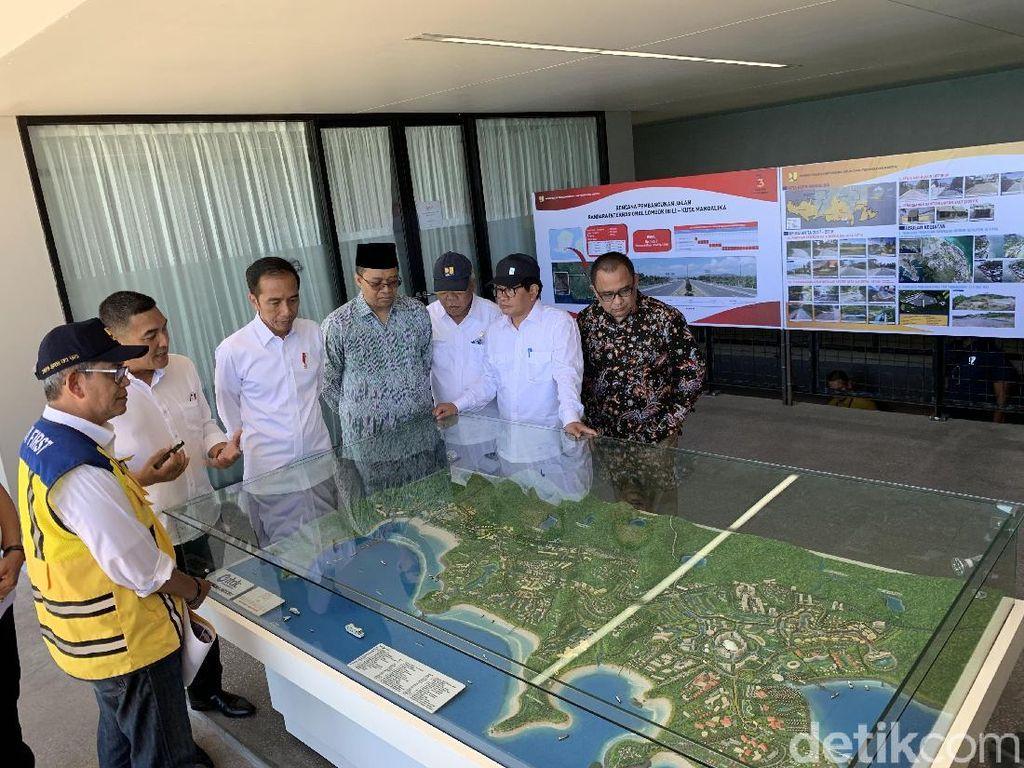 Tinjau KEK Mandalika, Jokowi: Standar Tinggi Dimulai Sejak Awal