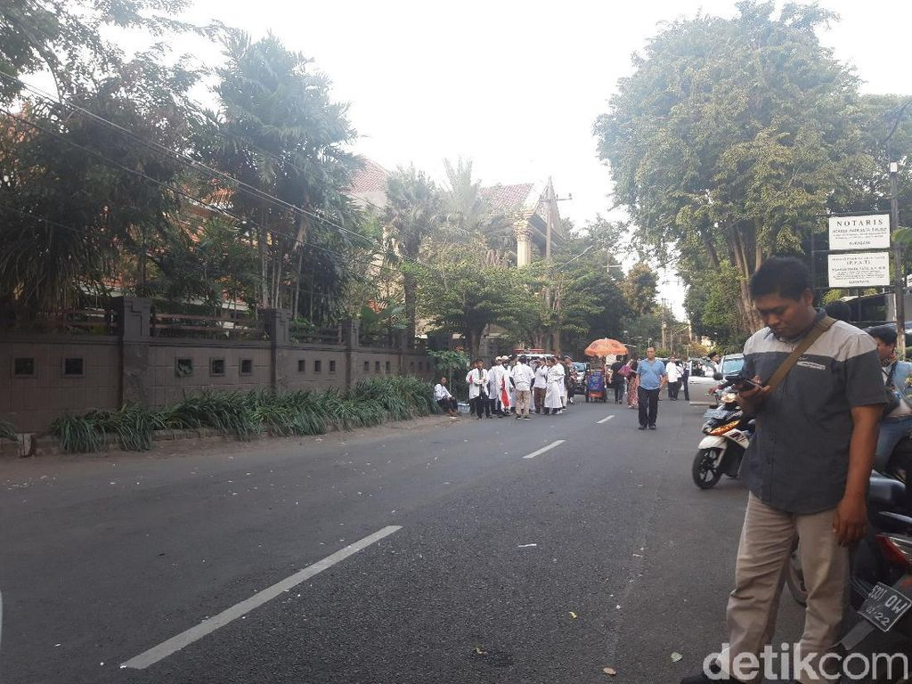 Usai Doakan Prabowo Menang, Massa Forum Umat Islam Bubarkan Diri