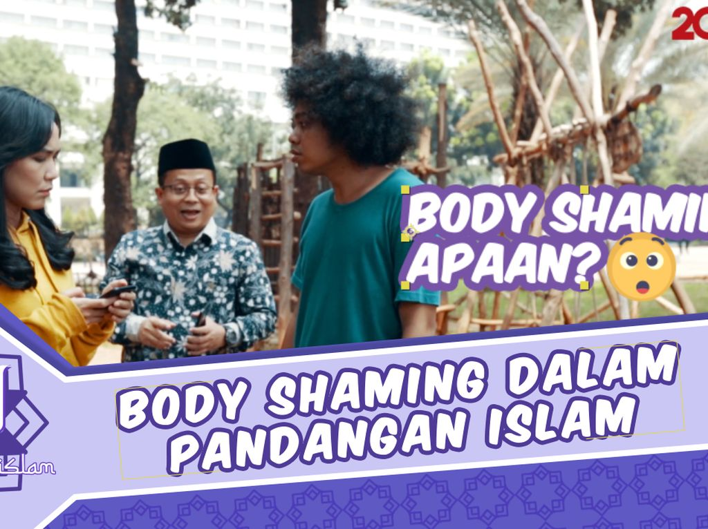 Ssstt, Ini Pandangan Islam Soal Body Shaming