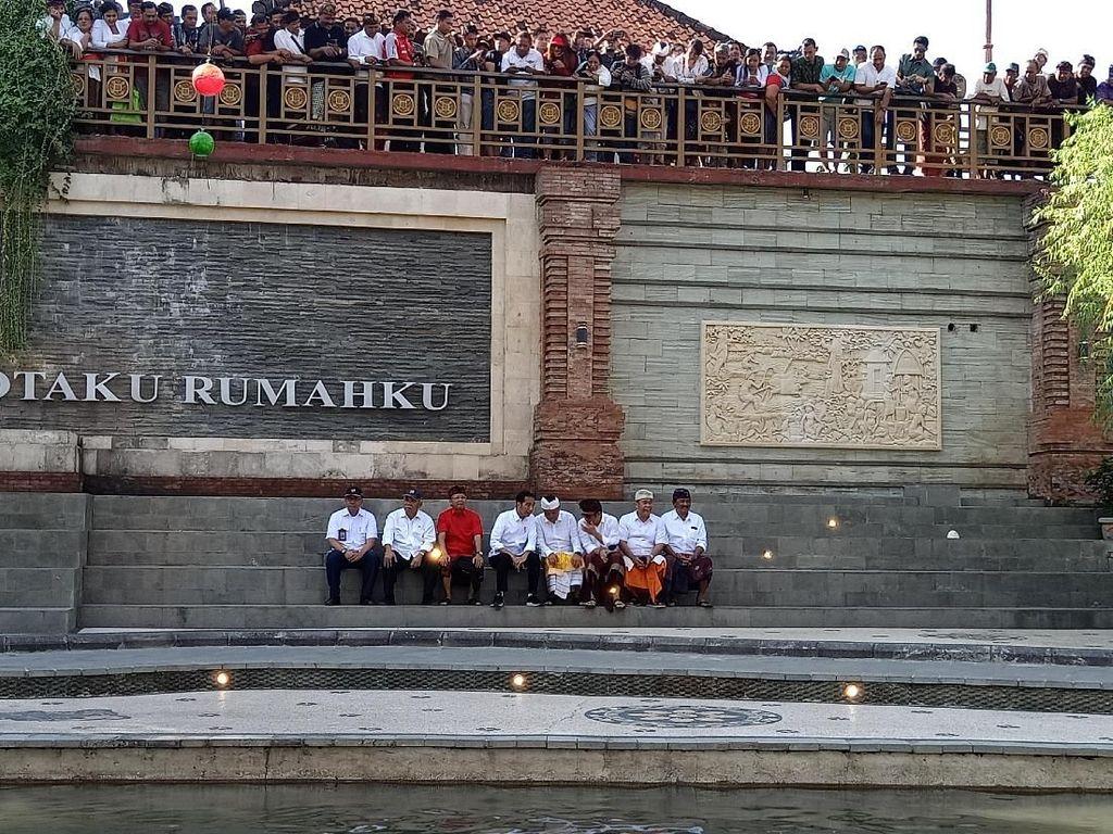 Cerita Walkot Denpasar Rai Mantra soal Bisik-bisik Bareng Jokowi