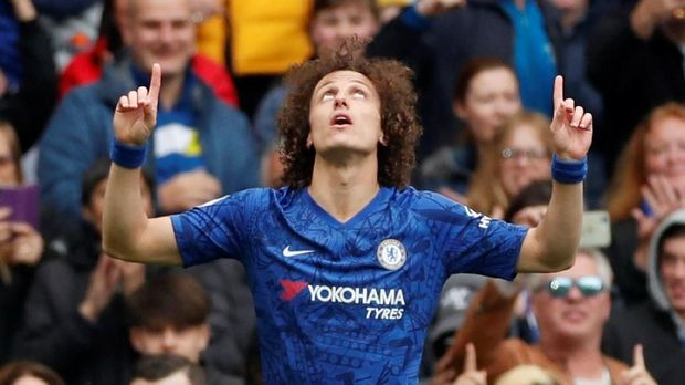 David Luiz hengkang ke Arsenal. (
