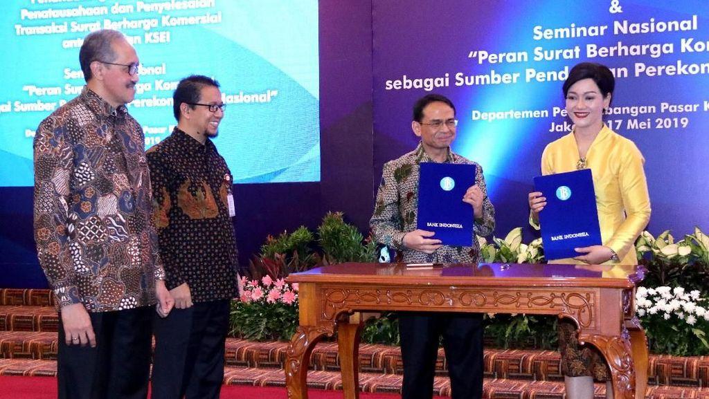BI Gandeng KSEI Akselarasi Penerbitan Surat Berharga Komersial