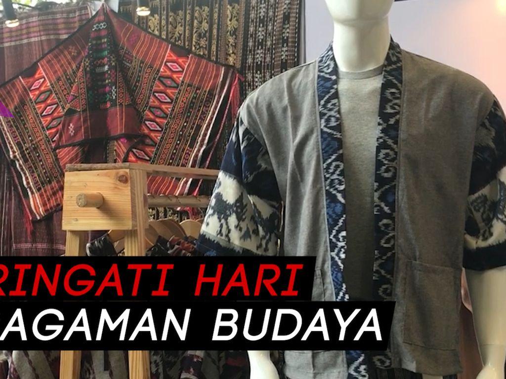 Gaungkan Wastra Nusantara Lewat Pameran Ethnic on the Go
