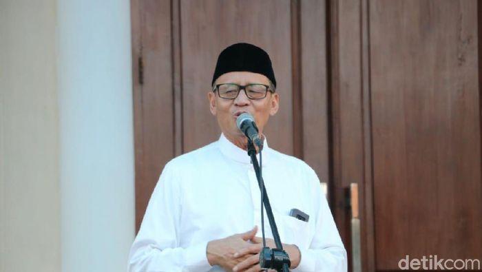 Foto: Gubernur Banten Wahidin Halim. (Bahtiar-detikcom)