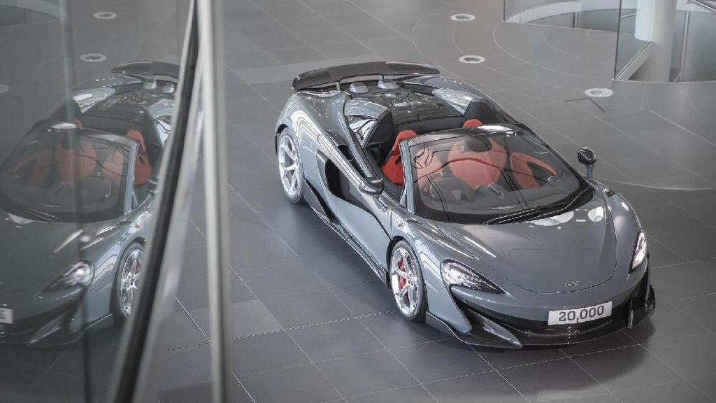 Wajah McLaren Produksi ke-20.000 Unit