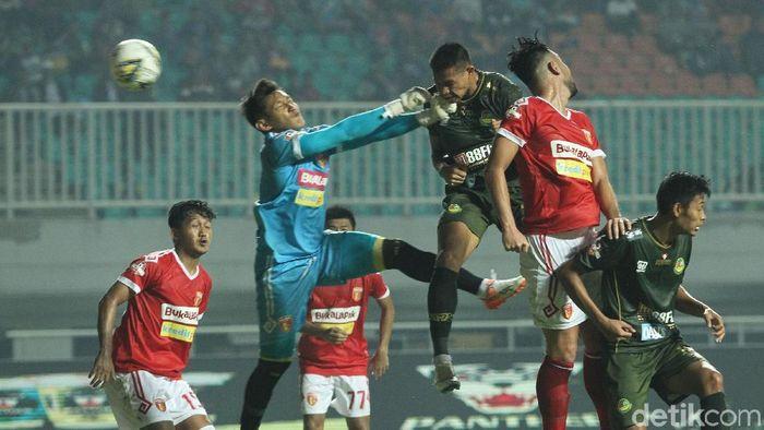 PS Tira Persikabo vs Perseru Badak Lampung berakhir 3-0. (Foto: Rifkianto Nugroho/detikcom)