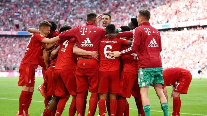 Bayern Munich juara Bundesliga 2018/2019. (Foto: Andreas Gebert / Reuters)