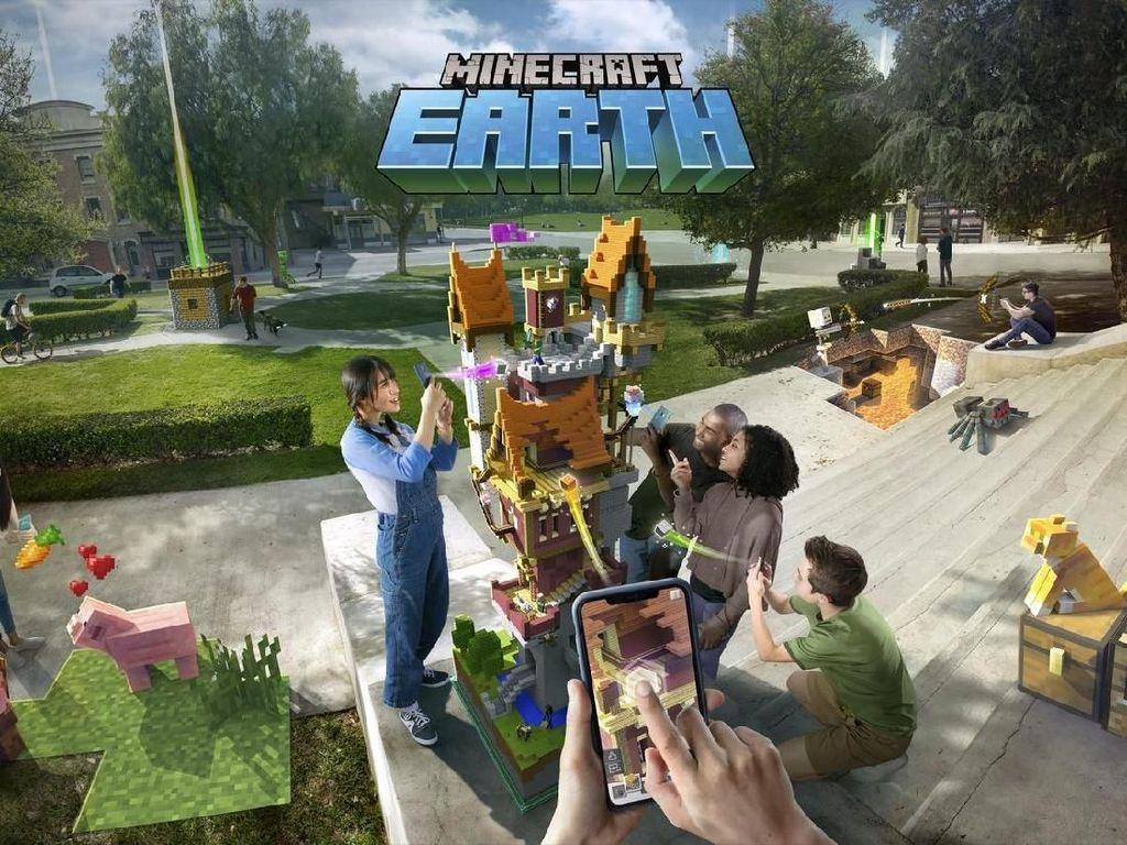Mau Jajal Duluan Minecraft Earth di iOS dan Android? Bisa