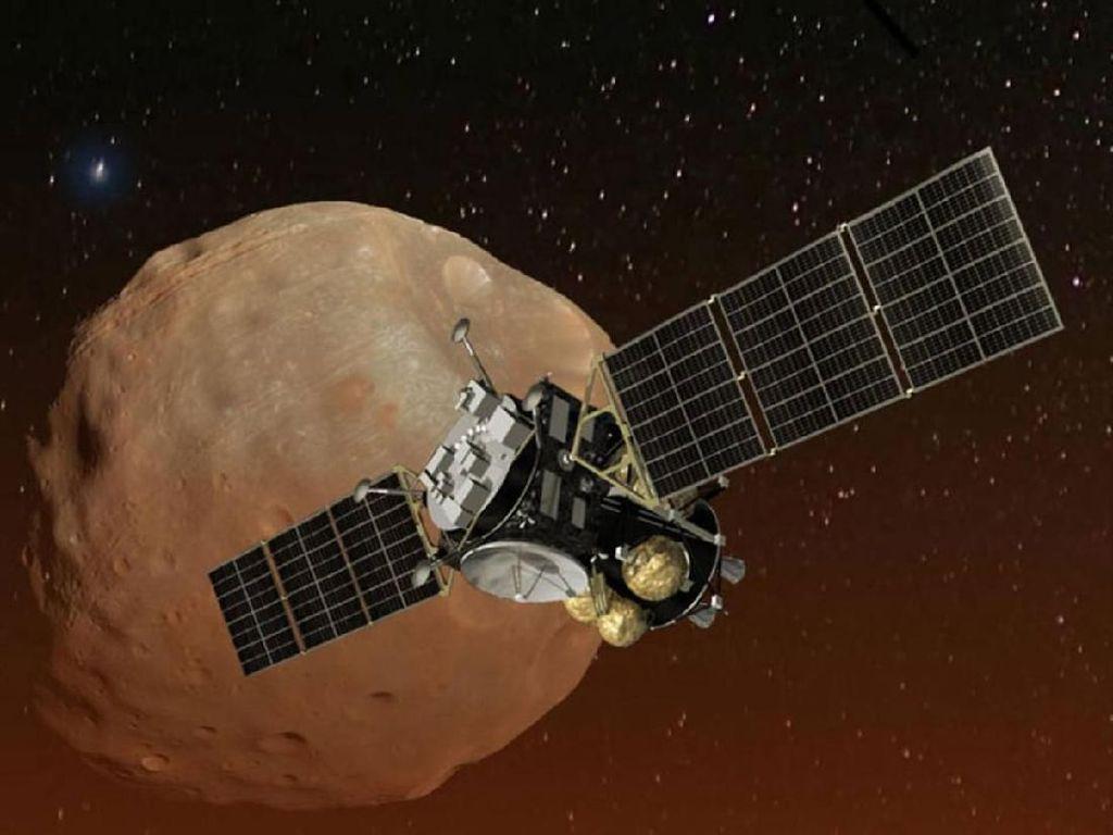Jepang Selangkah Lagi Gali Bulannya Mars