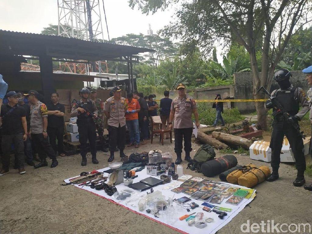 Fakta-fakta Terduga Teroris Bogor yang Simpan 6 Bom Siap Ledak