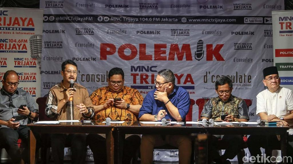 Keseruan TKN dan BPN Berdebat dalam Diskusi Menanti 22 Mei