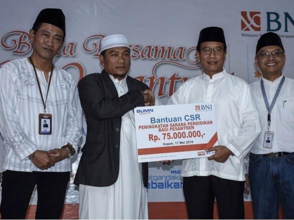 BNI Gelar Buka Puasa Bersama 1.000 Santri di Mataram