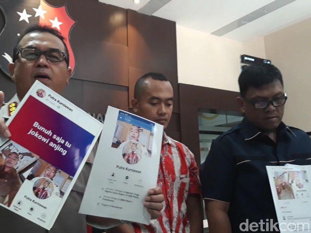 Polisi Tangkap Guru Honorer yang Posting Ancaman Bunuh Saja Jokowi