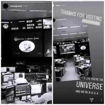 Instagram Story Ariana dan NASA