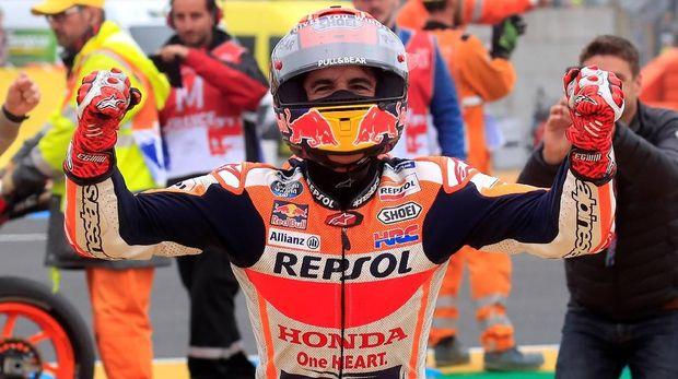 Marc <a href='https://uzone.id/tag/marquez' alt='Marquez' title='Marquez'>Marquez</a> meraih tiga kemenangan dari lima seri awal MotoGP 2019.