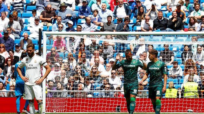 Real Madrid ditumbangkan Real Betis 0-2 di pekan terakhir LaLiga (Juan Medina/Reuters)