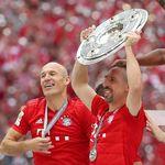 Robery Pungkasi Petualangan di Bayern Munich dengan Manis