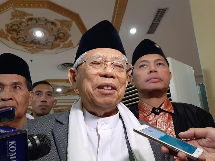 Ngaku Siap Bertemu Prabowo, Maruf: Waktunya Masih Dicari