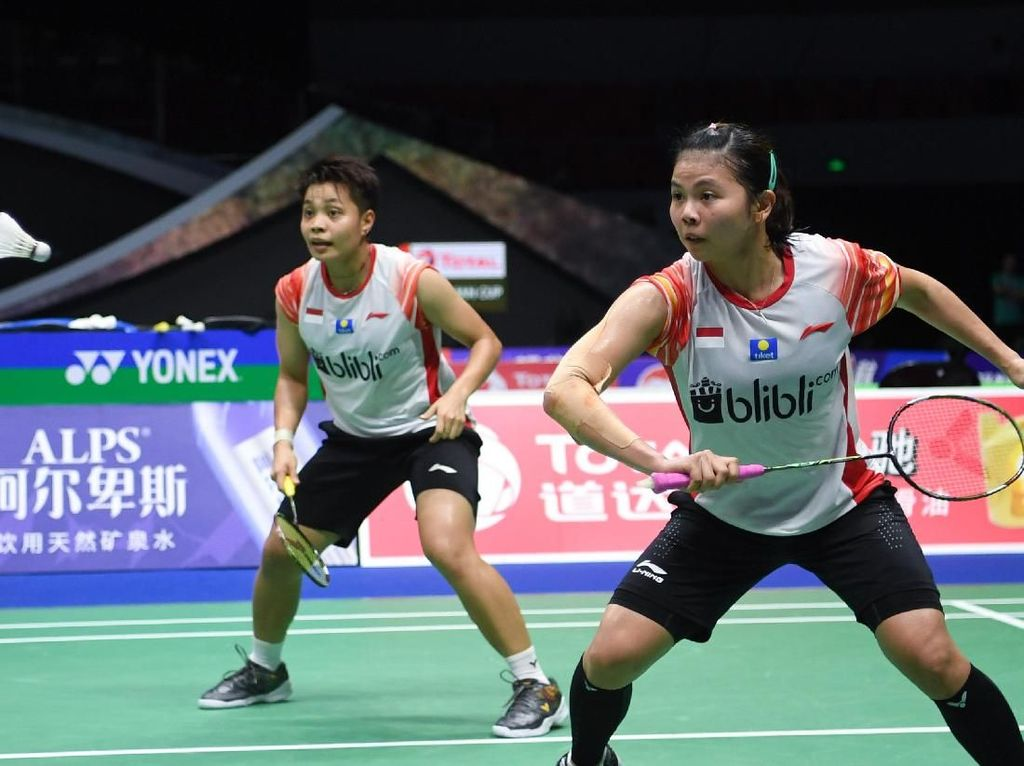 Piala Sudirman 2019: Indonesia 4 Inggris 1