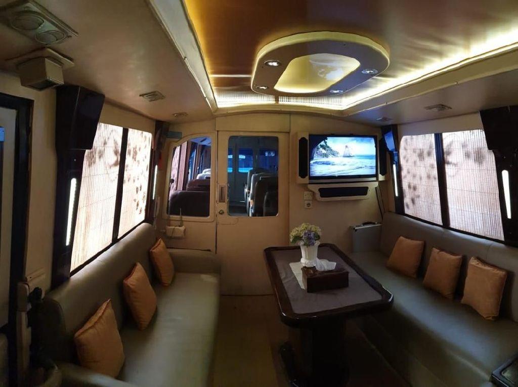 Mudik Mewah Pakai Bus Fasilitas Pesawat Kelas Bisnis