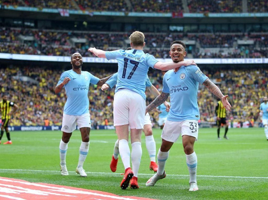 Man City Juara Piala FA 2018/2019