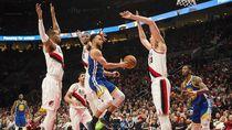 Hasil NBA: Menangi Gim Ketiga, Warriors Selangkah ke Final