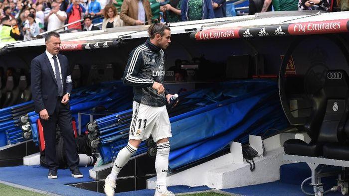 Gareth Bale tak diberi kesempatan Zinedine Zidane mengucap selamat tinggal ke Real Madrid (Denis Doyle/Getty Images)