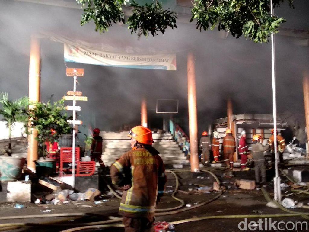 Setelah Hampir 24 Jam, Kebakaran Pasar Kosambi Berhasil Dipadamkan