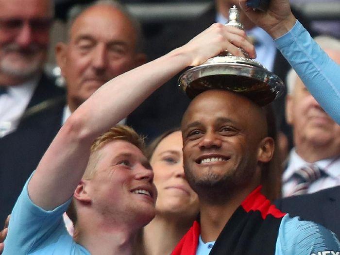 Kapten Manchester City, Vincent Kompany. (Foto: Julian Finney/Getty Images)