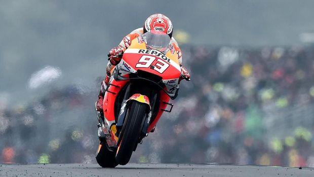 Tak Mau Takabur, Marquez Waspadai Tim Rossi di MotoGP Belanda