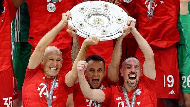 Bayern Munich satu-satunya yang didukung apparel Adidas di Liga Jerman musim lalu