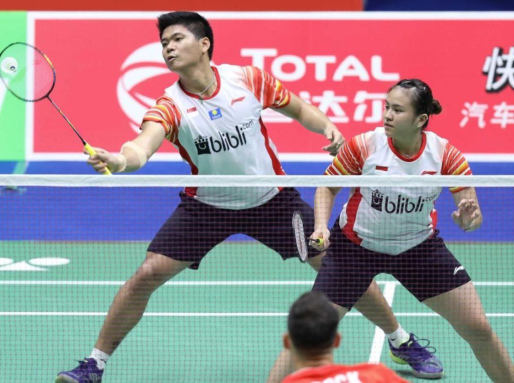 Susy kepada Praveen di Indonesia Open: Ayo, Beri Lawan Smes Kencangmu Itu!