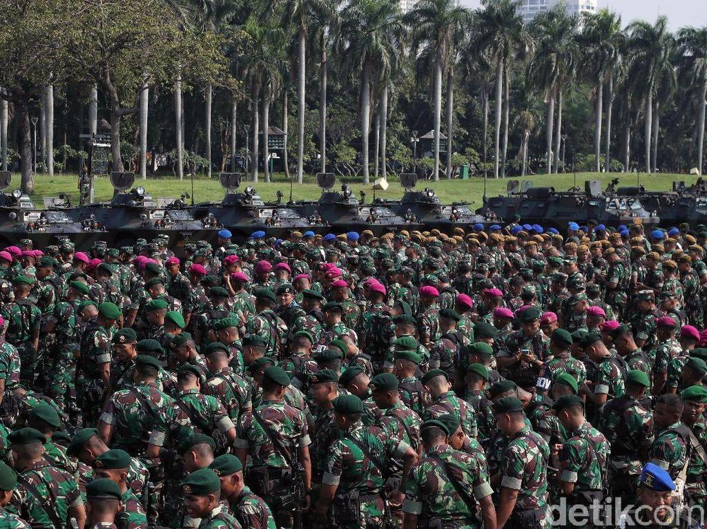 Dipertimbangkan Sri Mulyani Naik, Ini Daftar Gaji TNI Terbaru