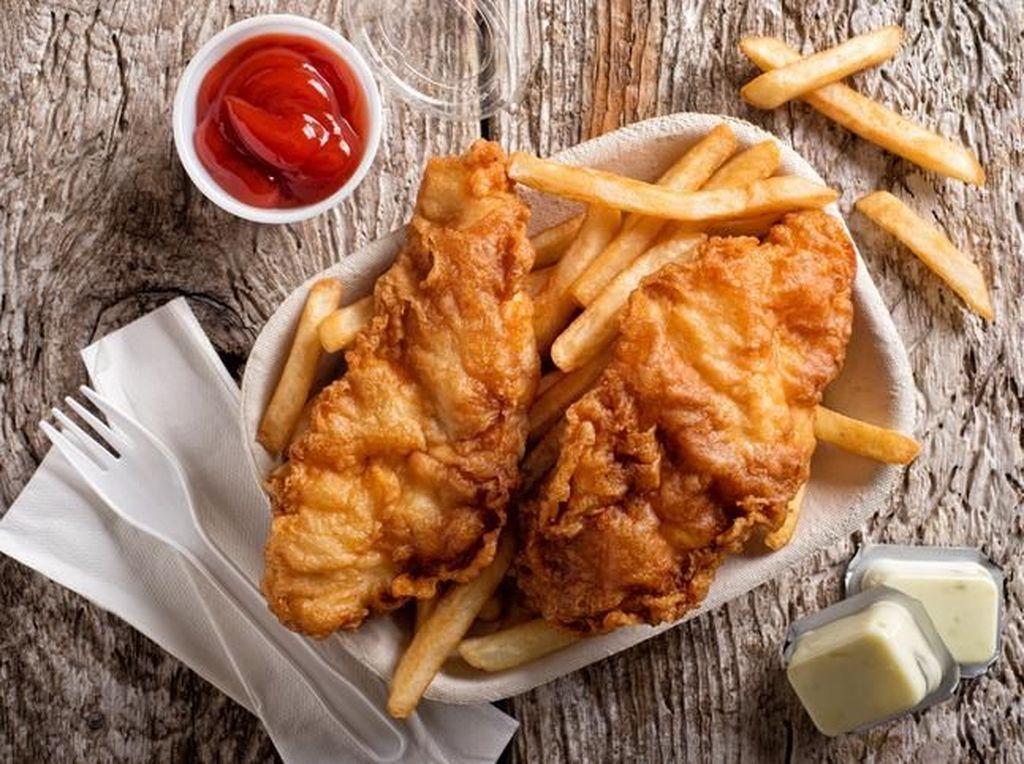 Masak Apa Hari Ini : Fish and Chips dan Sup Krim Jamur ala Restoran