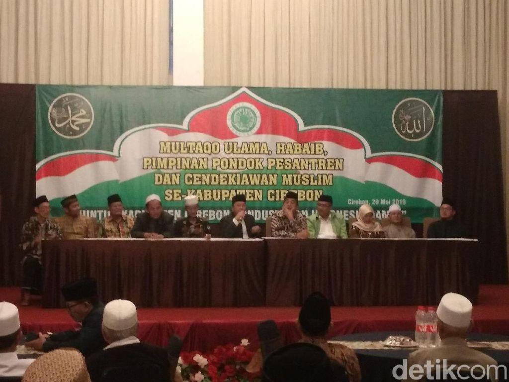 MUI Ajak Warga Cirebon Tidak Ikut Aksi 22 Mei di Jakarta