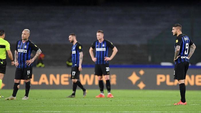Inter Milan takluk 1-4 dari Napoli. (Foto: Francesco Pecoraro/Getty Images)