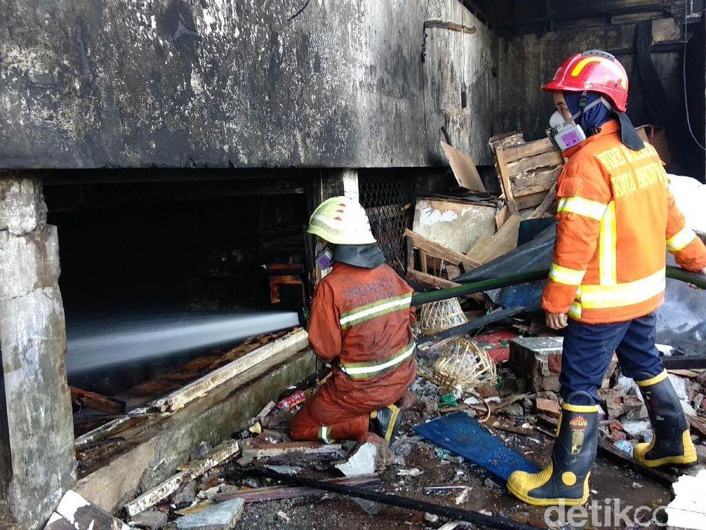 Kebakaran Pasar Kosambi Bandung Telan Kerugian Rp 20 Miliar