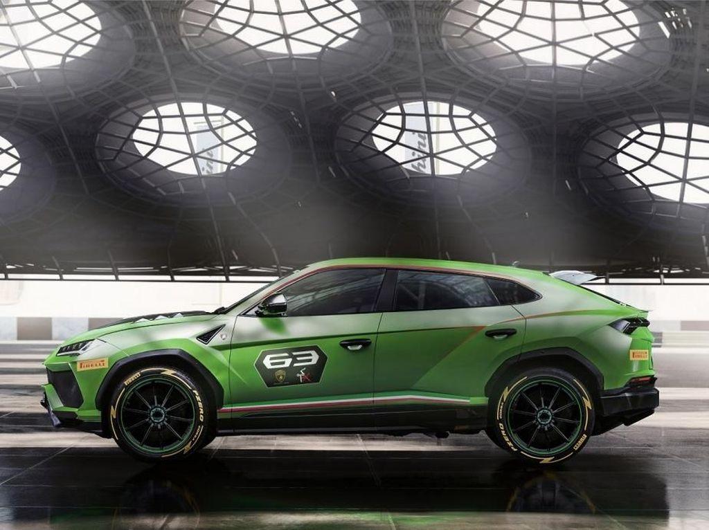 Lamborghini Urus Makin Bengis
