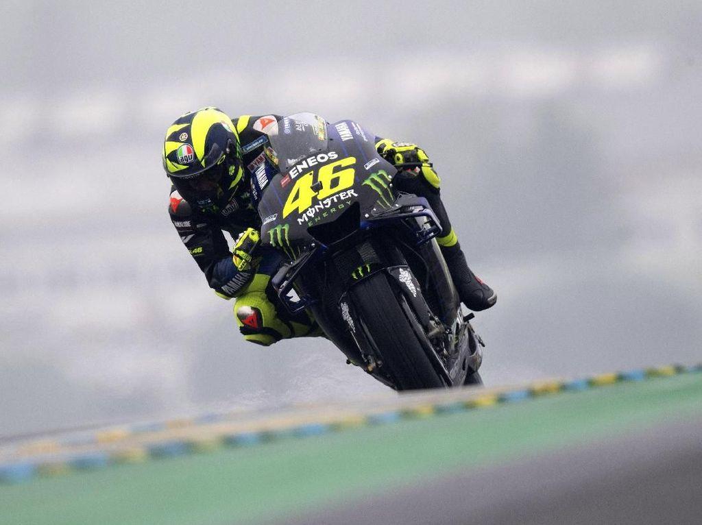 Valentino Rossi Jajal Sistem Rem Belakang Baru