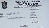 Alasan Kondisi Politik, 22 Mei Sekolah di Surabaya Diliburkan